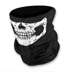 Fietsen Gezichtsmasker Hoofddeksels Halloween Schedel Wrap Sjaal Warm Wasbaar Hoofdband Ademende Running Bandana Buitensporten Apparatuur
