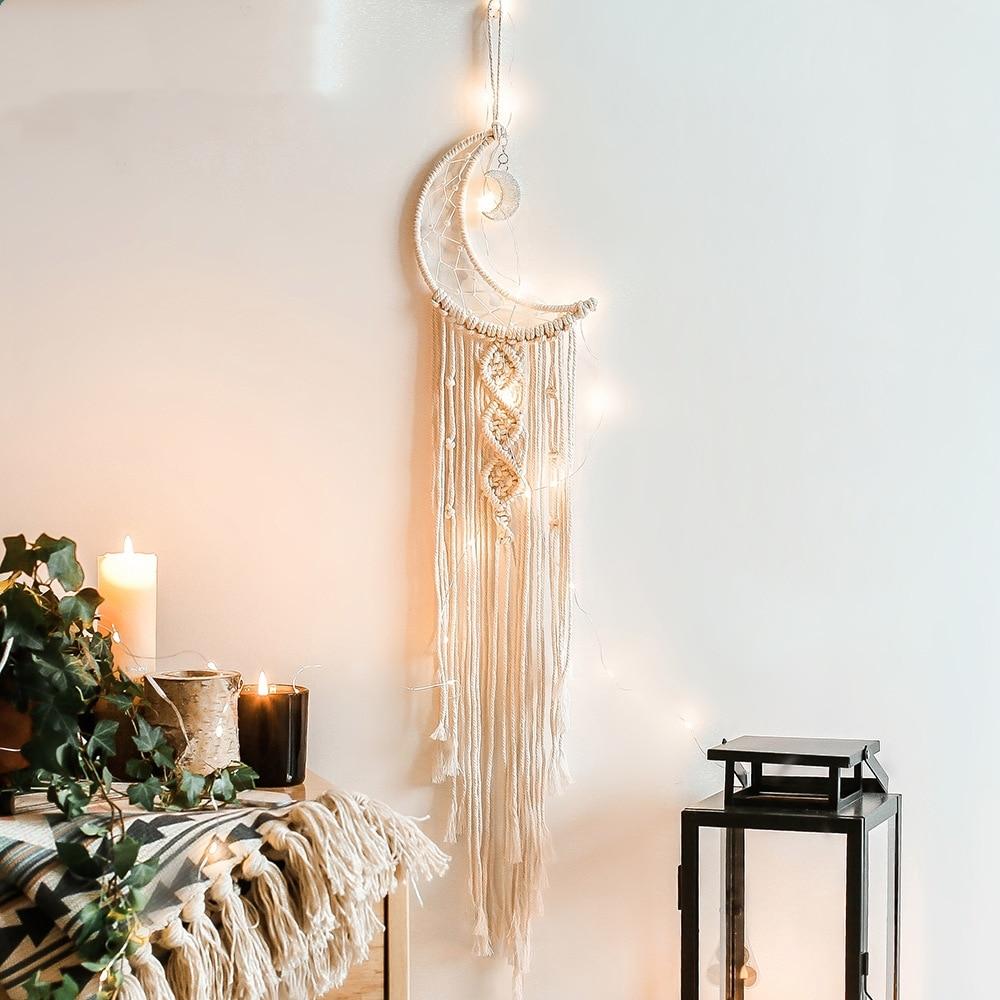 Dreamcatcher handgemachte wind chime home anhänger handwerk geschenk traum catcher dekoration auto hängen schlafzimmer dekoration