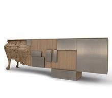Pakiet 3 szt francuski projekt stół konsolowy ze stopą pazurową 270cm długości 90cm wysokości i 56cm szerokości tanie tanio Meble do salonu Stół konsoli Meble do domu