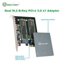 Двухдиапазонный m2 ngff sata ssd b Ключ pci e 30 x1 адаптер