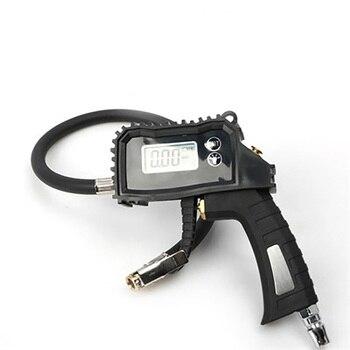 Auto Digital Display Reifen Manometer LED Licht Luft Manometer Aufblasbare Pistole Center Air Release Ventil Auto Reparatur Werkzeuge