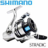 New SHIMANO STRADIC Spinning Fishing Reel 1000HG/2500/C3000HG/4000XG/5000XG 6+1BB AR-C Spool SeaWater Fishing Reel 3-11KG Power