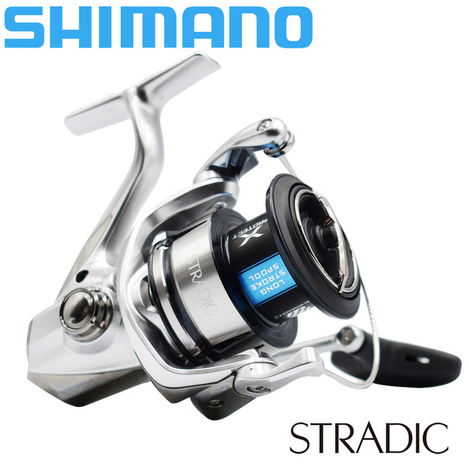 New SHIMANO STRADIC Spinning Fishing Reel 1000HG/2500/<font><b>C3000HG</b></font>/4000XG/5000XG 6+1BB AR-C Spool SeaWater Fishing Reel 3-11KG Power image