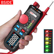 듀얼 모드 멀티 미터 디지털 전압계 BSIDE 92CL pro 컬러 디스플레이 전압 표시기 전류 커패시턴스 NCV Hz 배터리 테스터