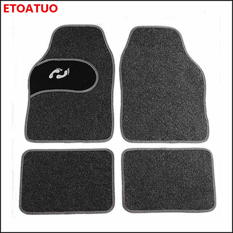 RED UNIVERSAL CAR FLOOR MATS CARPET FOR VAUXHALL