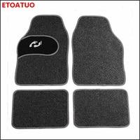 universal Car floor mat for Alfa Romeo Giulia Stelvio 2017 auto styling car accessories car mats carpet floor mat car