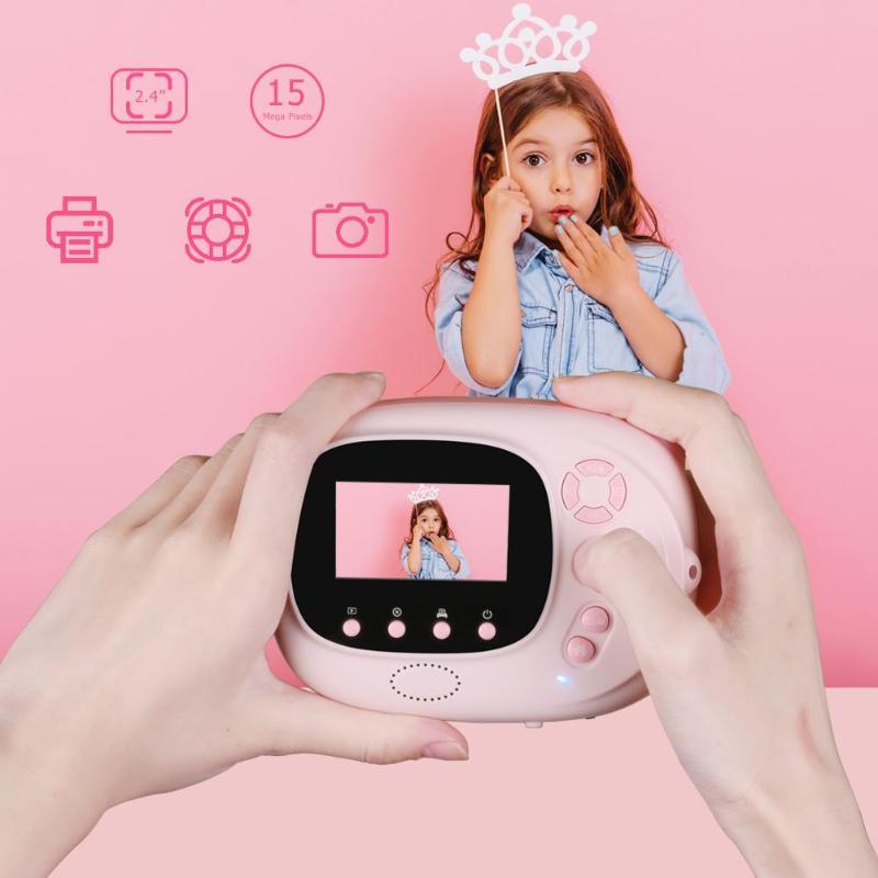 P02 TFT 2.4 pouces WiFi 1080P enfants Mini mignon caméra numérique enregistreur vidéo caméscope HD CMOS 8MP capteur de pixels - 3