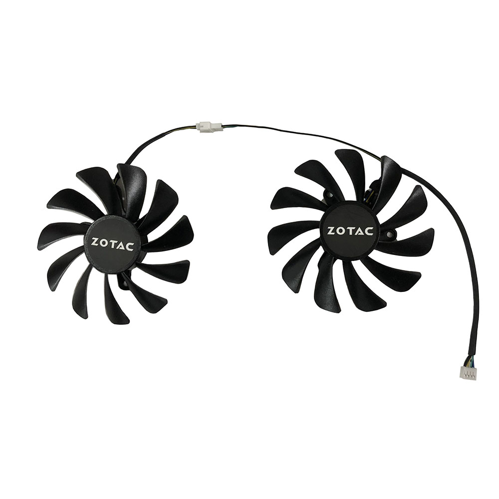ZOTAC GeForce GTX 1070 Ti AMP Edition GPU VGA Cooler Cooling Fan For ZOTAC GeForce GTX 1070 AMP Core Video Cards As Replacement image