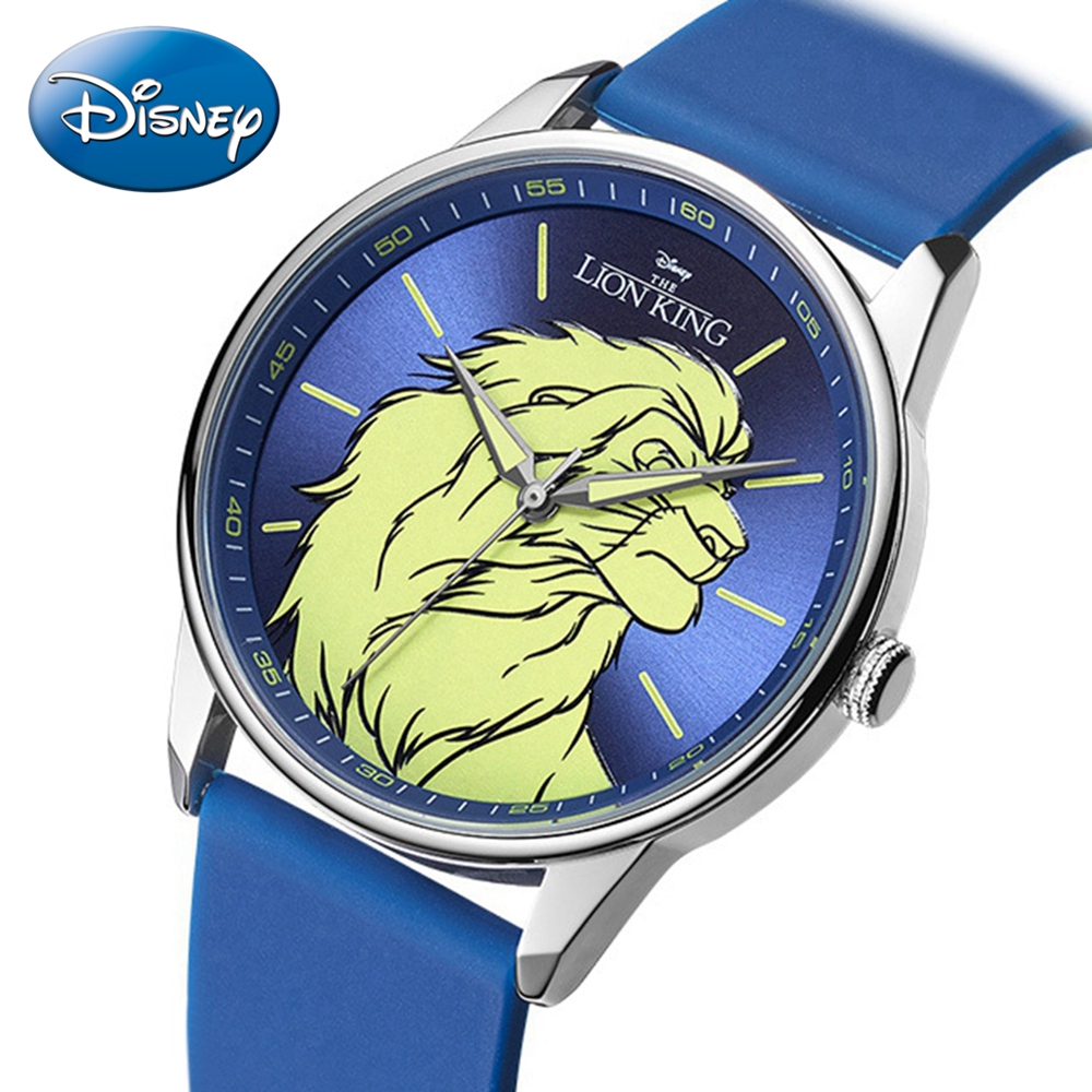 Kids Quartz Watches Child Casual Teen Student Silicone Strap Lion King Strong Brave Boys Clock Men Military Outerdoor Reloj Male