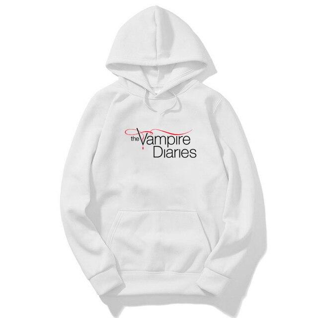 The Vampire Diaries Hoodie Sweatshirt Men Harajuku Hoodies Hip Hop Streetwear Sweatshirt Mujer Bluza Damska Winter Clothes Women 3