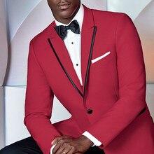 Men's Suits Tuxedos Blazer Groom Jacket--Pants Peak Lapel Wedding-Prom One-Button-Groomsmen