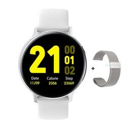 Круглые водонепроницаемые Смарт-часы S20, IP68, 1,4 дюйма, сенсорный экран, ЭКГ, ФПГ, пульсометр, для iPhone, Android VS SG2