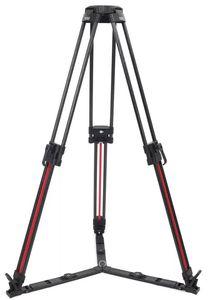 Image 3 - TS 1610CF Q Quick Lock Stativ Carbon Faser Professionelle Stativ 100mm Schüssel Video Kamera Stativ Für TERIS V12 V15 V18