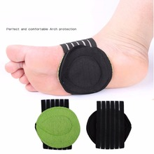 1 Pair Shoe Insole Comfortable Instep Pad Insoles Foot Health Flat Foo
