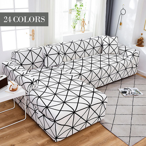 Stretch Sofa Cover Slipcovers Elastic All-inclusive Couch Case for Different Shape Sofa Loveseat Chair L-Style Sofa Case 1PCS