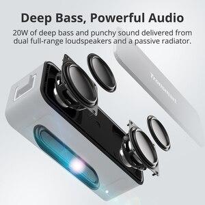 Image 2 - Yeni 2020 orijinal Tronsmart T2 artı Bluetooth 5.0 hoparlör 24H sütun 20W taşınabilir hoparlör IPX7 ses çubuğu TWS ses asistanı