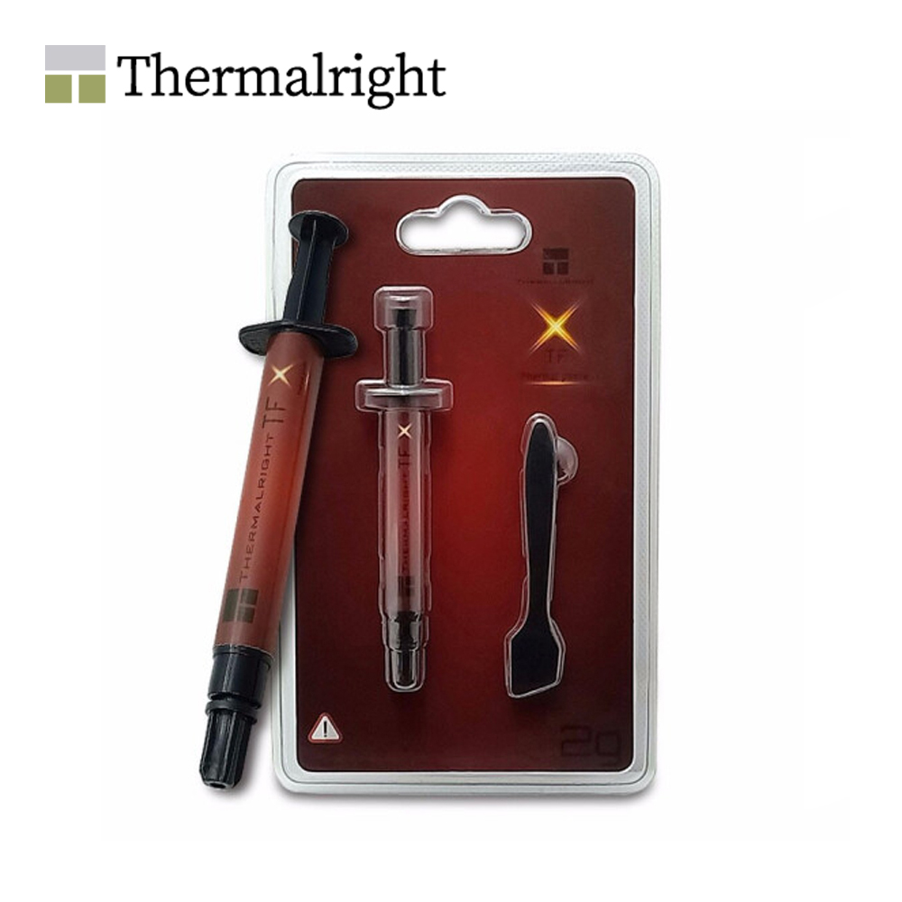 Thermalright Thermal Silicone Grease 14.3 W/mK Conductivity, 2g, Using For Notebook /GPU Card ,TFX 2G Seller High Recommend