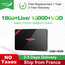 Subscription Arabic IPTV Years Box Leadcool Pro Android 8.1 RK3229 Dutch France Belgium Algeria Tunisia H.265 Decoder QHDTV