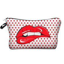 Who Cares Makeup Bags Women Cosmetic Bag With Multicolor Pattern 3D Printing neceser Cosmetics Pouchs For Travel make up bag часы geneva who cares
