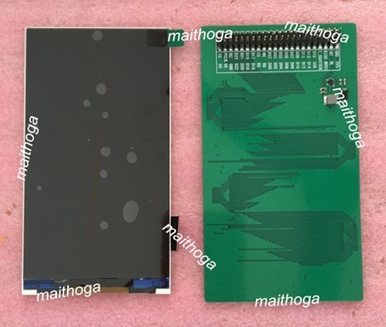 Ips 5.0 インチ 51PIN tft 液晶画面 (ボード/いいえボード) ILI9806 駆動用 ic 480*854 rgb 24Bit + spi インタフェース
