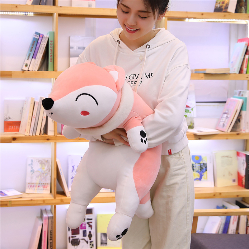 50/90cm Kawaii Dolls Stuffed Animals & Plush Toys for Girls Children Boys Toys Plush Pillow Fox Stuffed Animals Soft Toy Doll