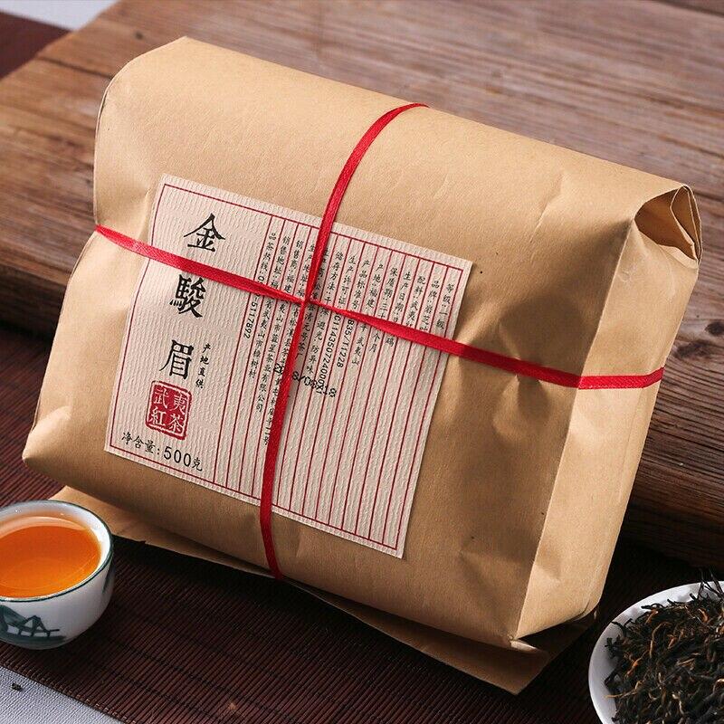 Organische Jin Juni Mei * Jinjunmei Goldene Augenbrauen Wuyi Schwarzer Tee 500g