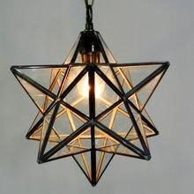 Лофт винтажный подвесной светильник лампа для стрельбы звездное