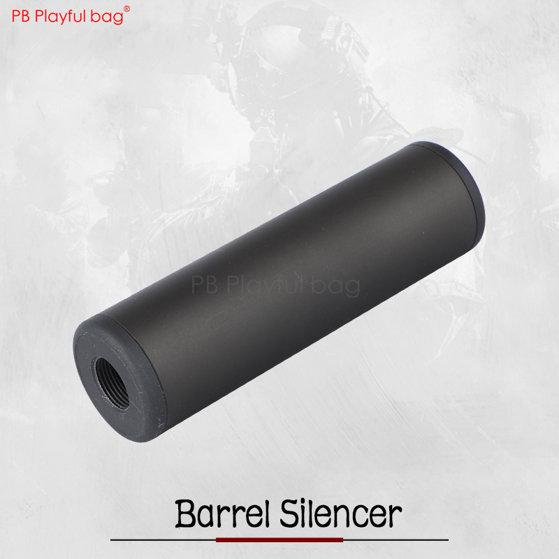 Outdoor CS Sport Water Bullet Silencer 14mm Reverse Teeth Upgrade Material Toy Model Accessory Barrel Silencer Gen 9 QE15