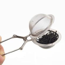 Tea Strainer Stainless Steel Sphere Mesh Tea Infuser Metal Tea Bag Filter Diffuser Loose Leaf Green Tea Strainer for Mug Teapot stainless steel tea ball tea infuser black tea strainer fda approved loose leaf herbal brewing tools