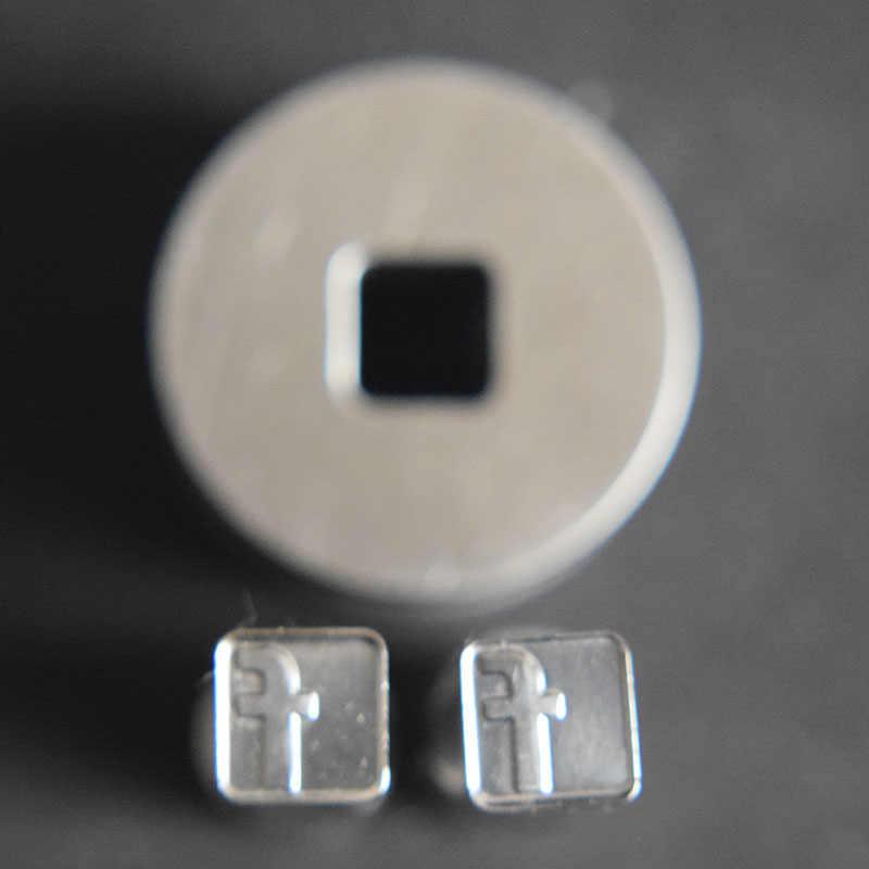 3D Face Book Tablet Die 3D Pílula Imprensa Molde Do Doce de Perfuração Morrer Logotipo Personalizado de Cálcio Tablet Soco Morrer