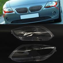 Dla BMW Z4 E85 2003-2008 reflektor samochodowy osłona obiektywu osłona reflektora tanie tanio GZYOCN Reflektory CN (pochodzenie) 63127165653 63127165654 63127165713 63127165714 63127165677 63127165678