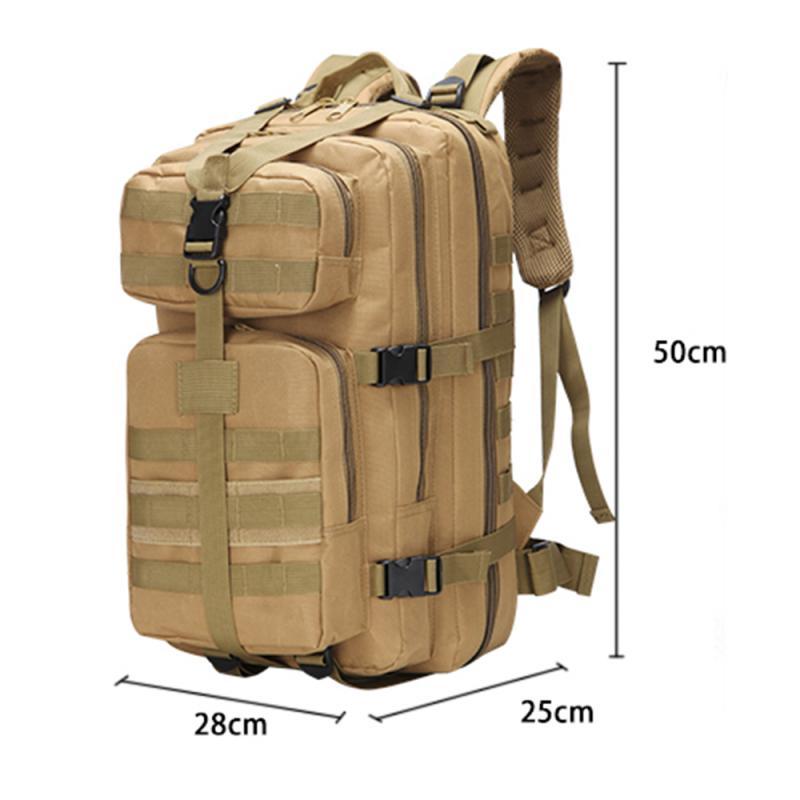 Details of Waterproof 35L Army Rucksack Backpack