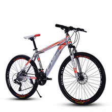 New Brand Mountain Bike Carbon Steel Frame 24/26 Inch Wheel 27 Speed Dual Disc Brake Bicycle Outdoor Sports Downhill Bicicleta