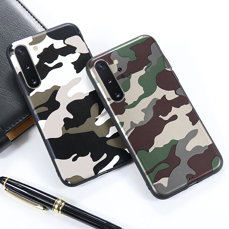 Camouflage Soft Case For Samsung Galaxy A10 A20 A20E A30 A40 A50 A60 A70 S10 S9 S8 S10E Note 10 9 8 A6 A8 Plus A7 A9 2018 Cover