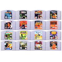 64 Bit Game Shooters Games Video Game Cartridge Console Card English Language US Version for Nintendo image