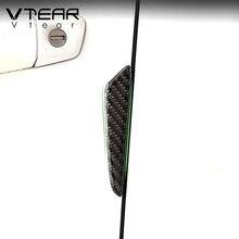 Vtear, универсальный автомобильный бампер для двери, полоски, защита, защита от столкновений, края, уплотнение, отделка автомобиля, Стайлинг, внешний стиль, молдинги