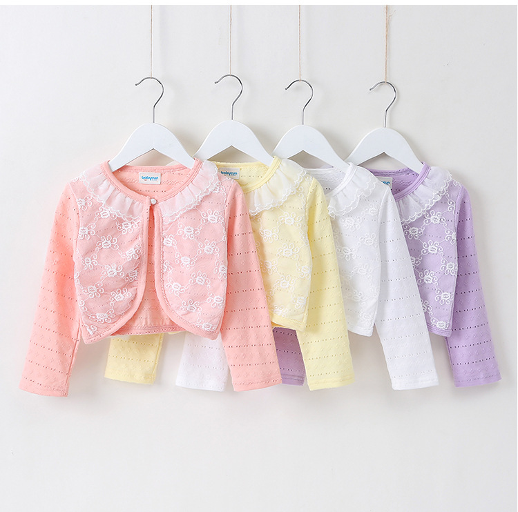 RL5 2019 Girls Outwear Cotton Children Cardigan Sweater para niñas - Ropa de ninos - foto 3