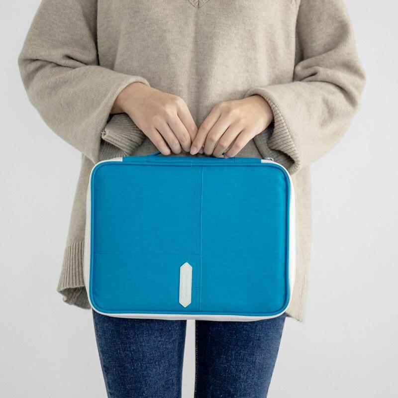 Men Women Waterproof Travel Document Storage Bag Electronic Article Organizer Mobile Phone Ipad Digital Certificate Accessories