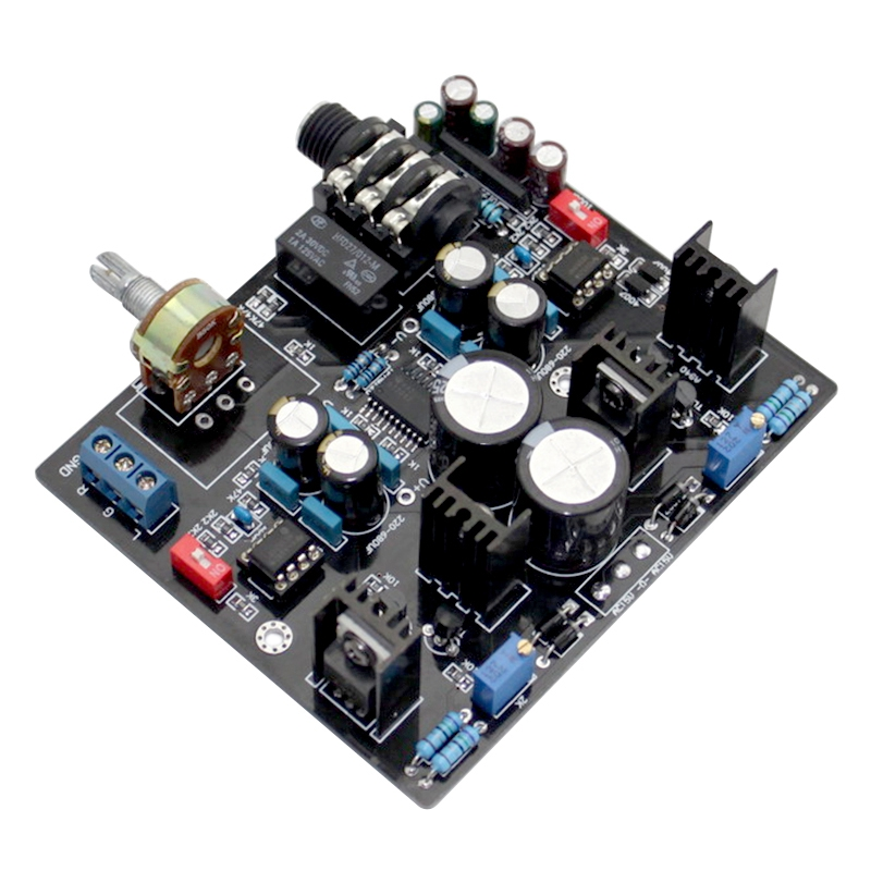TPA6120A Headphone Amplifier Board NE5534 For 32-600 Ohm Speaker With Headphone Protection