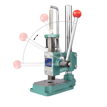 Tablet Manual punching machine hand press chopping tool Mini Hand Press Stamp Machine Punch Maker craft jewelry tool s недорого