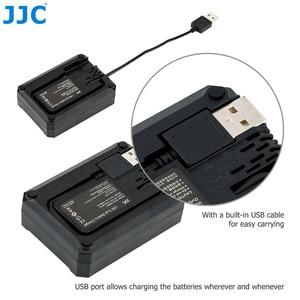 Image 4 - Зарядное устройство JJC для Sony A9 A7III A7RIV A7RIII A7M3 A7RM4 A7RM3 A7 Mark III A7R Mark IV III, заменяет BCQZ1 с двумя USB портами