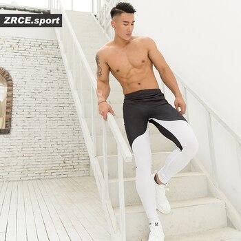 Leggins Uomo Leggero Ad asciugatura rapida Elastico Palestra Fitness 1