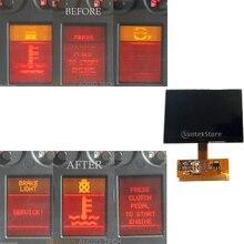 Blok prędkościomierza instrumentu ekran wyświetlacza LCD dla Audi A4 (B5) 1995 2001, A6 (C5) 1997 2004