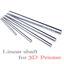 Eixo óptico 300 320 350 380 400 450 500 mm hastes lisas 8mm trilho de eixo linear impressoras 3d peças cromado guia slide