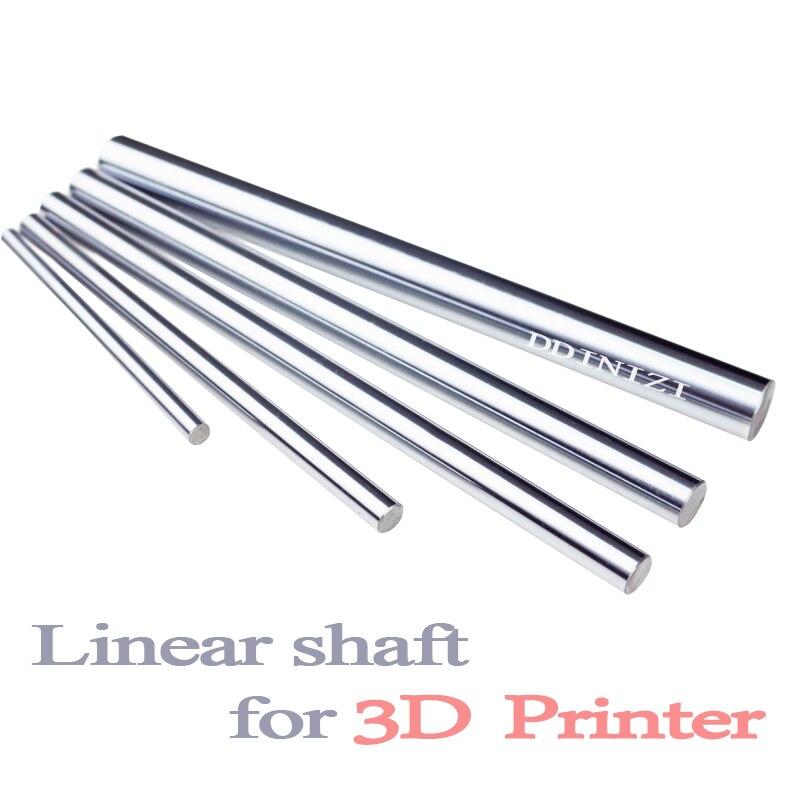 Optischen Achse 300 320 350 380 400 450 500 MM Glatte Stangen 8mm Lineare Welle Schiene 3D Drucker Teile verchromt Guide Rutsche