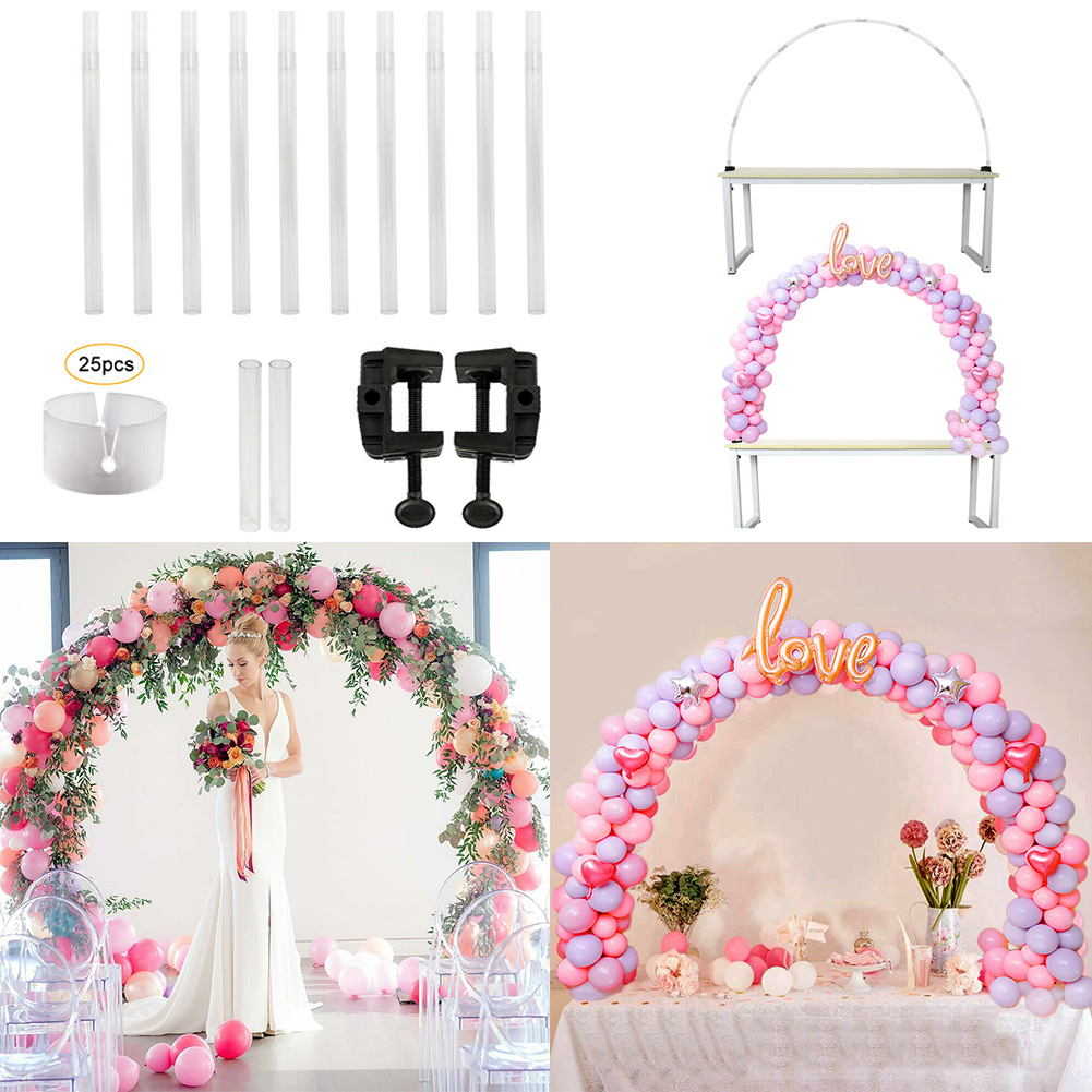 Balloon Stand Wedding Arch Decor Birthday Balloons Arch Stick Holder Kids Adult Balloons Column Chain Wedding Mariage Accessorie