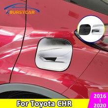 Xburstcar voiture gaz mazout réservoir couverture Protection capuchon autocollant pour Toyota C-HR CHR C HR 2016 2017 2018 2019 2020 accessoires