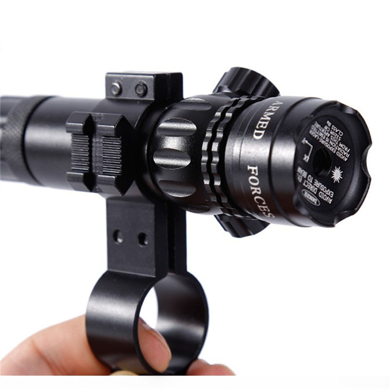 Hunting Accessories Green / Red Dot Laser Sight Focus With Rail Mount Adjustable Laser Light Pen Remote Switch Laser Scope Sets