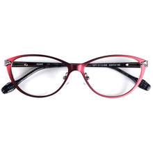 Italy designer spectacles women cat eye glasses frames for prescription glasses spring hinge