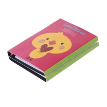 Cute Cartoon Animal Sticky Note Memo Pad Notebook Label Stationery Gift X6HB